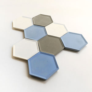 Hexagon coaster/tray