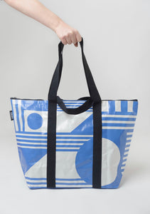 Tote bag Medium - The Santorini (with zipper)