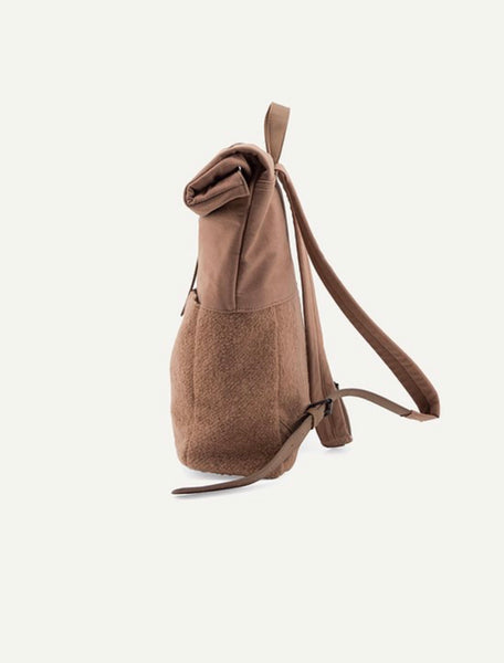 Herb Backpack - Wool Cacao