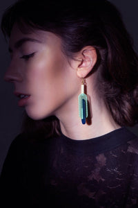 Capsule - 3D printed earrings
