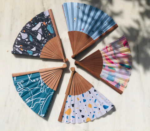 Hand Fan - Various designs