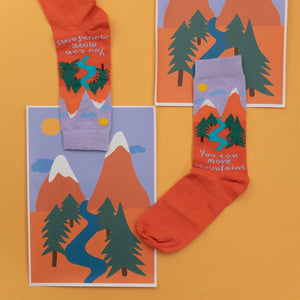 Mountain socks