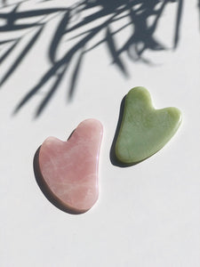 Gua Sha (Jade/Rose Quartz)