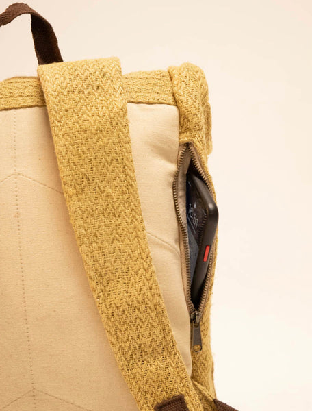 Nuptse Backpack Hemp Mustard