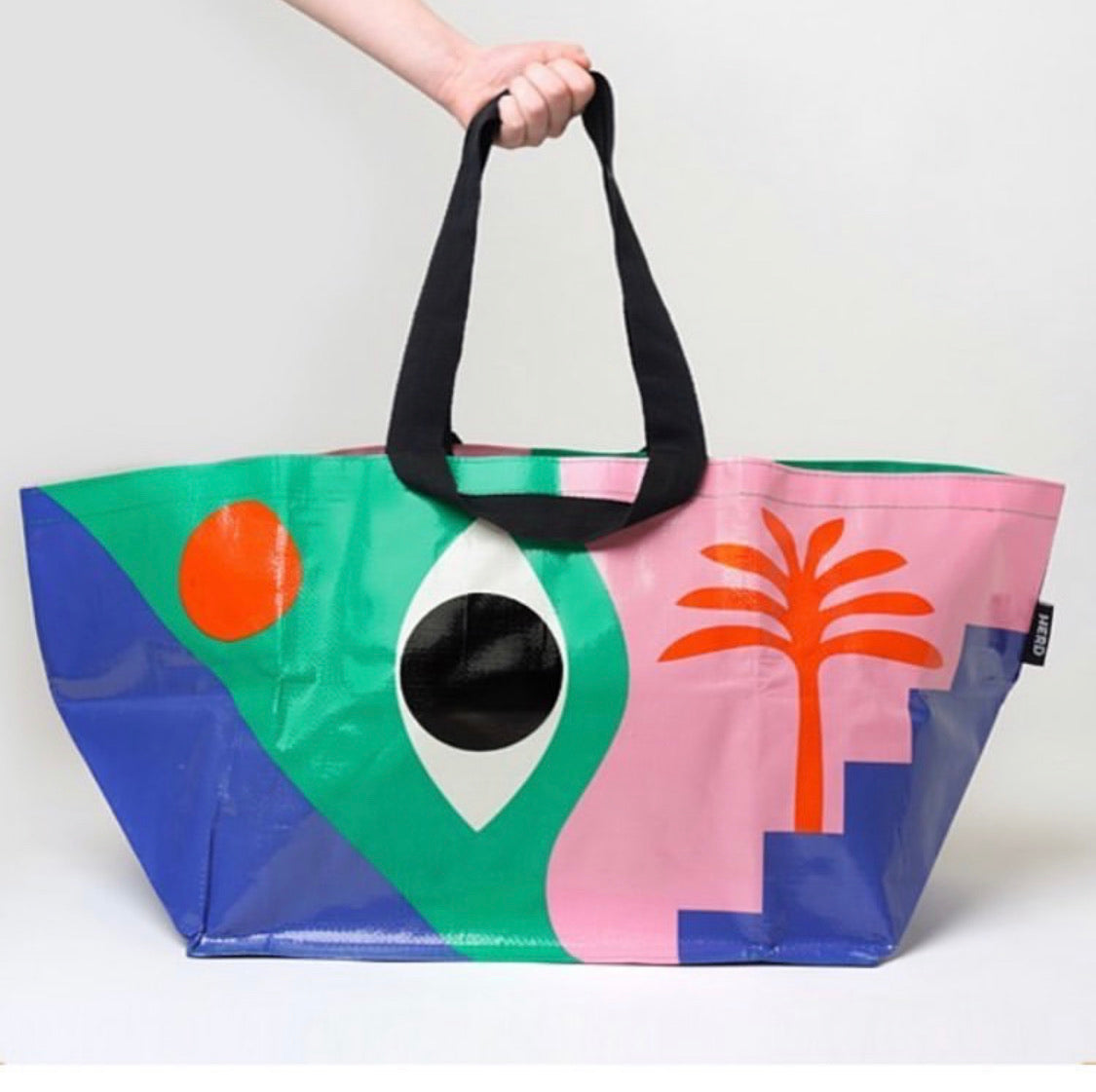 Tote bag Large - The Eye