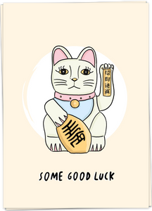 Lucky Cat Card