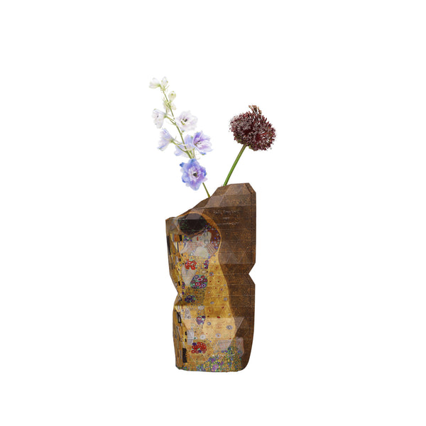 Small Paper Vase Cover - The Kiss (Klimt)