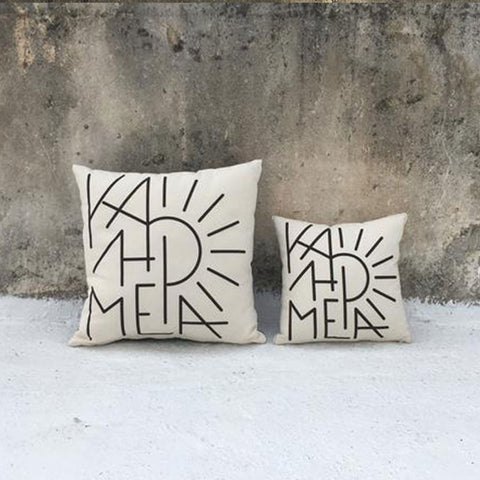 Kalimera Square Cushion Cover