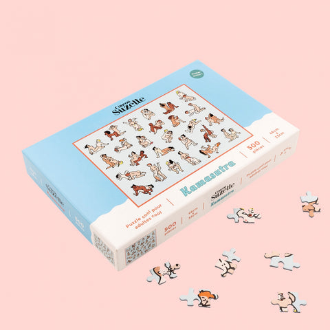 Kama Sutra Jigsaw Puzzle - ARRIVING 26/1