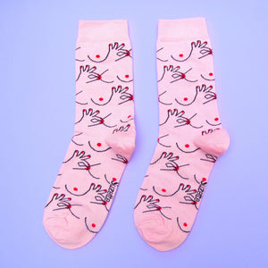 Nipples Socks - BACKIN STOCK 3D WEEK OF NOVEMBER