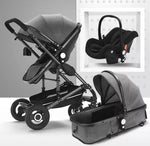 Load image into Gallery viewer, 3 in 1 Comfy Baby Stroller With Car Seat Travel System Combo