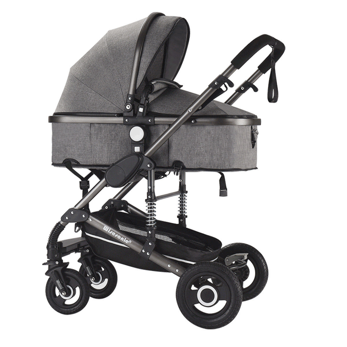 3 in 1 Comfy Baby Stroller With Car Seat Travel System Combo