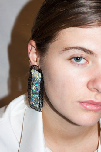 Bedroom Earrings / Black