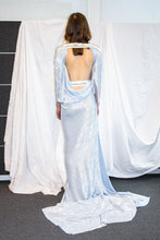 Load image into Gallery viewer, Goddess Dress / Silver Blue