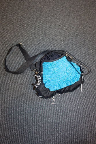 Medium Frilly Denim Bag