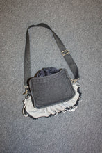 Load image into Gallery viewer, Medium Frilly Denim Bag
