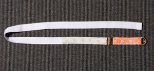 BELT / CHOKER WHITE/PEACH