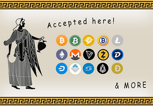 Crypto Merchandise - Crypto Accepted Here