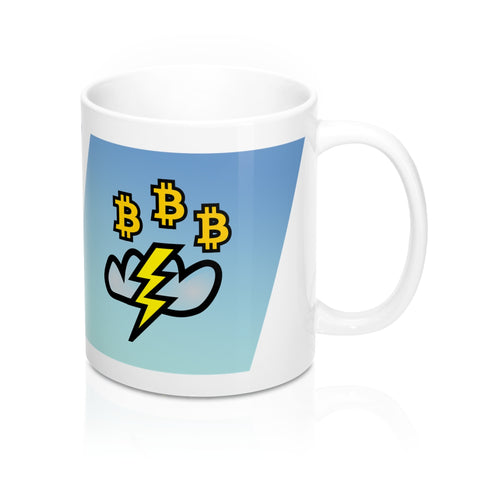 Lightning Network Bitcoin Mug