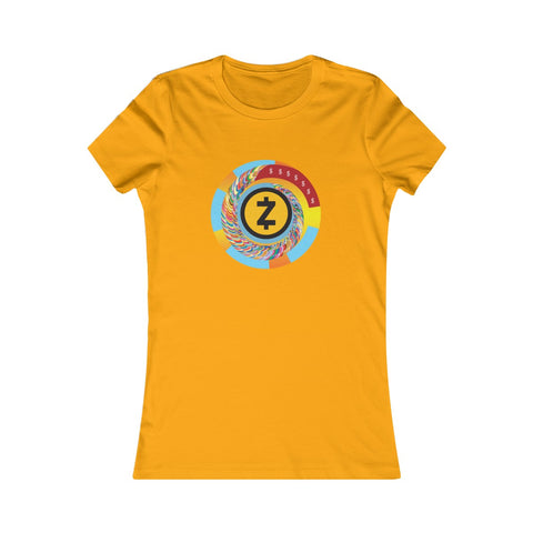 Zcash Woman Tee – Spiral Madness