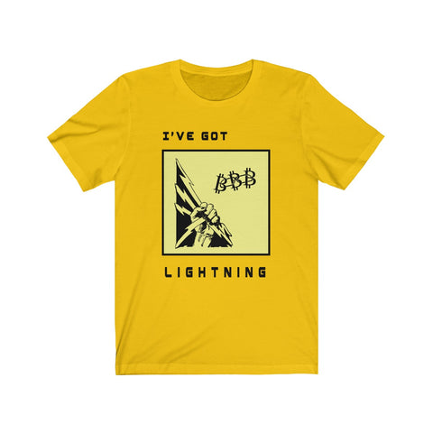 I've Got Lightning Bitcoin T Shirt