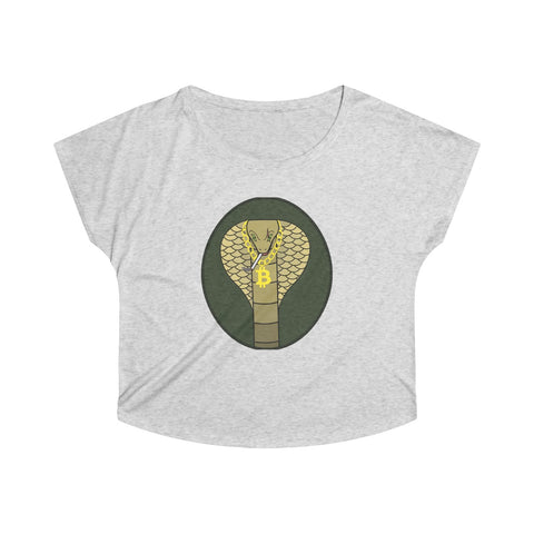 snake bitcoin woman shirt