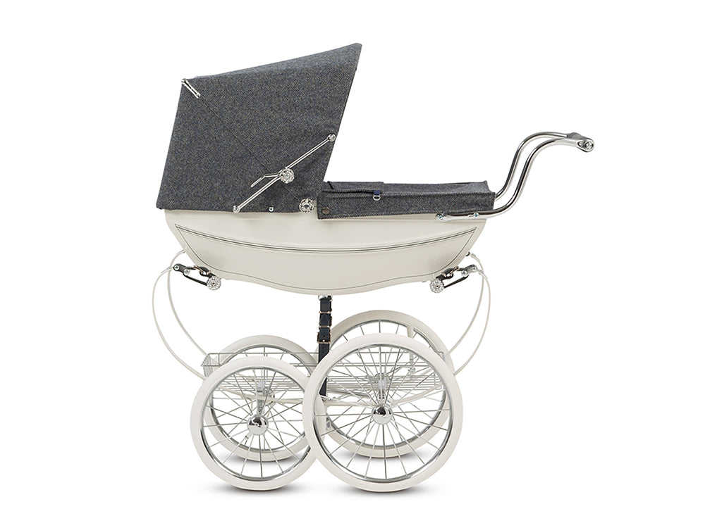 140th Anniversary Doll's Pram Silver Cross Heritage