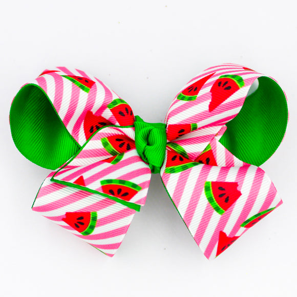 Watermelon Overlay - Small Bow