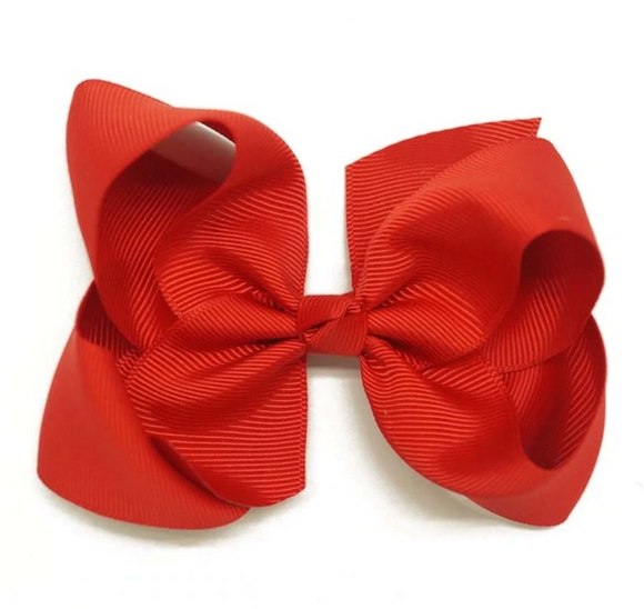 Classic Red - Small Bow