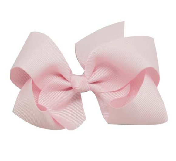 Classic Baby Pink - Small Bow