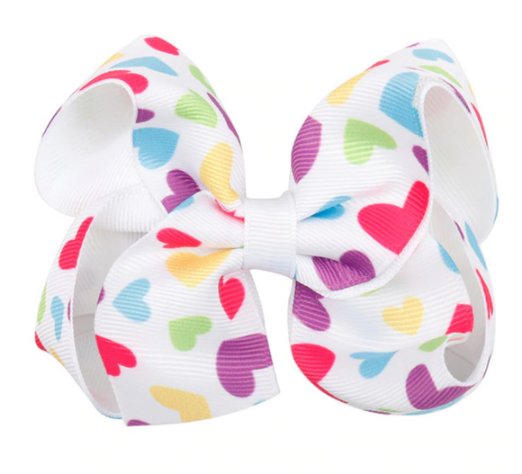Heart Print - Small Bow