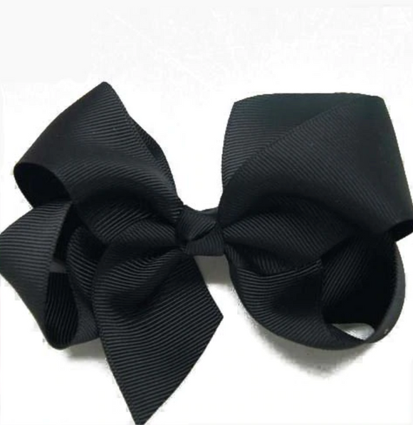 Classic Black - Small Bow
