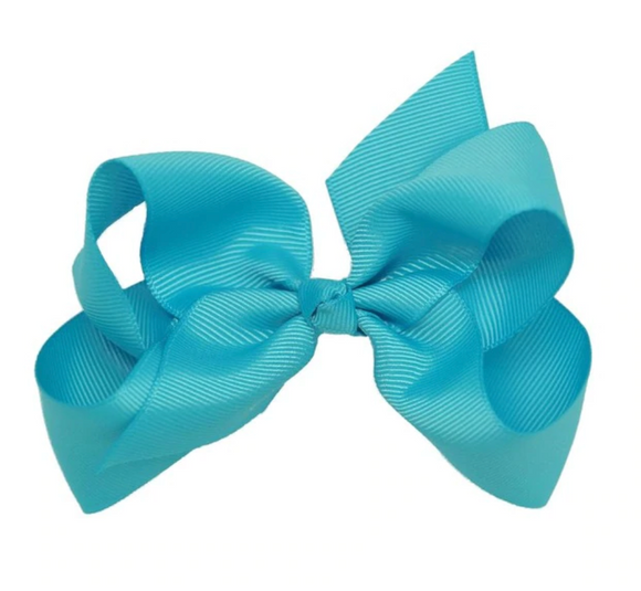 Classic Turquoise - Small Bow