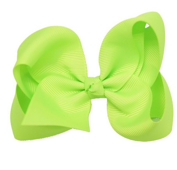 Classic Lime - Small Bow