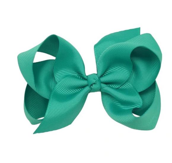 Classic Teal - Small Bow