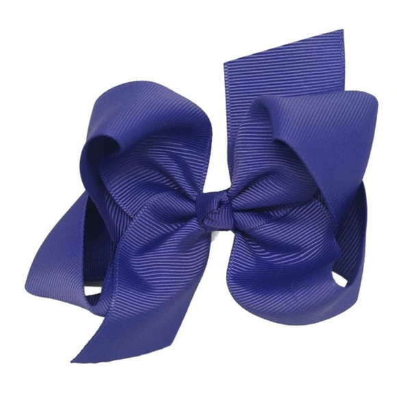 Classic Royal Purple - Small Bow