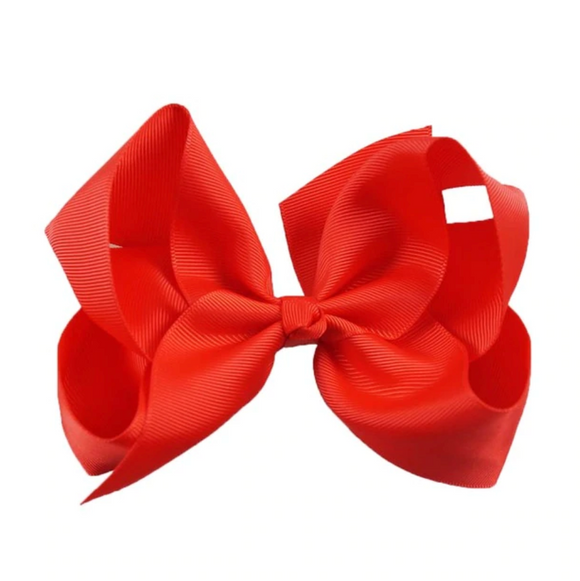 Classic Red - Large Bow