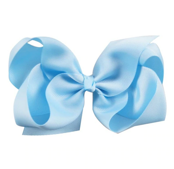 Classic Baby Blue - Large Bow
