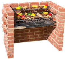 Load image into Gallery viewer, 100% STAINLESS STEEL BRICK BBQ KIT BKB301  90x39cm (4 brick wide)