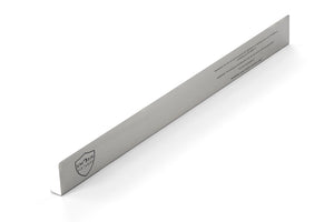 Large stainless steel Ember Guard measuring 7cm high for extra safety.