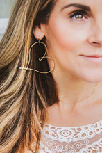 Load image into Gallery viewer, Love Always Earrings (Gold)