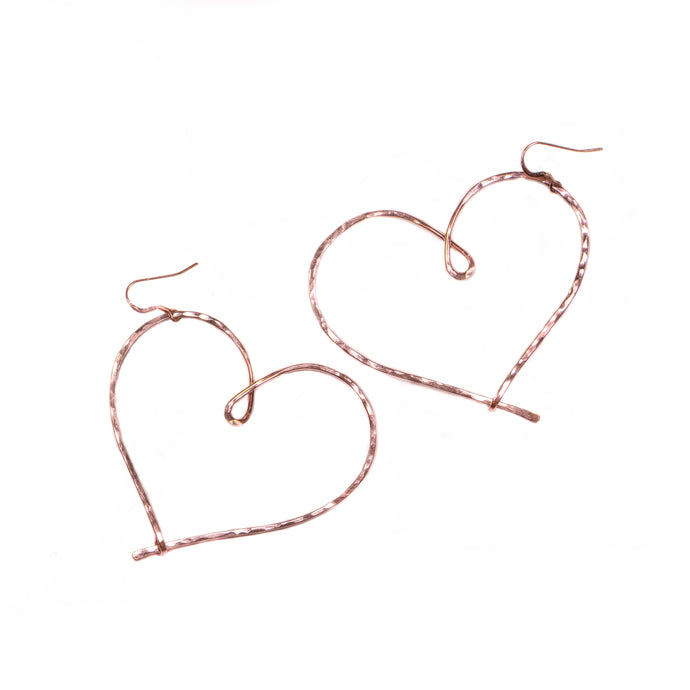 Love Always Earrings (Rose Gold)