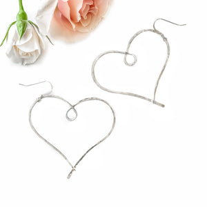Love Always Earrings (Sterling Silver)