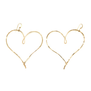 Love Always Earrings (Gold)