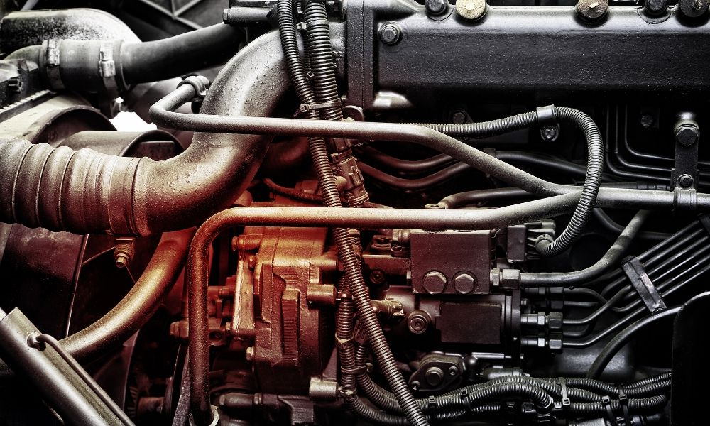 How Does a Diesel Truck Engine Work?