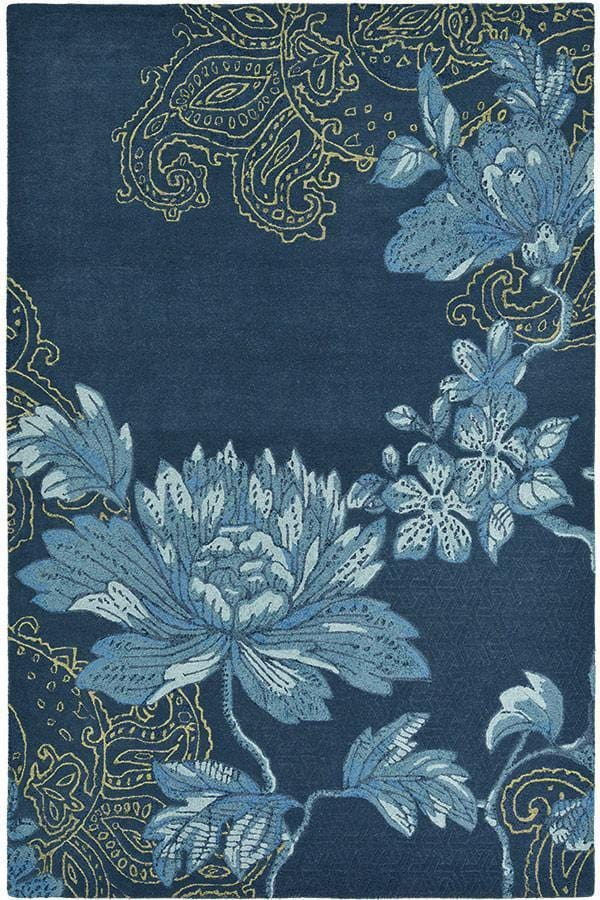 Wedgwood Fabled Floral Navy 37508 Rug