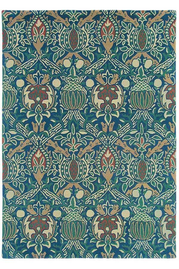 Morris & Co Granada Indigo/Red 27608