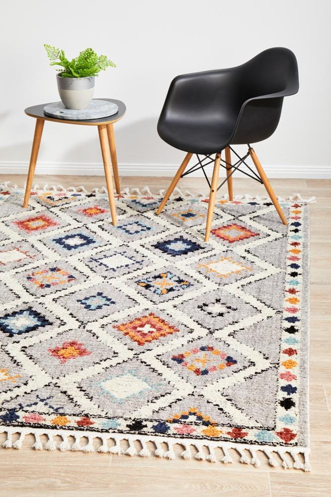 Marrakesh 555 Grey Rug