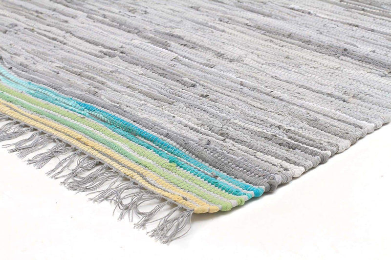 Atrium-Boho Whimsical Rug Grey