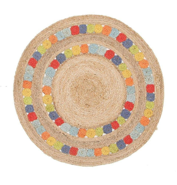 Atrium-Little Miss Daisy Jute Rug